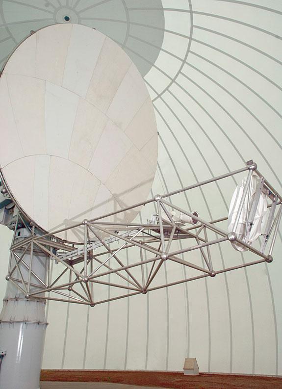Image of radar receiver/transmitter