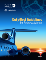 Duty/Rest Guidelines for Business Aviation