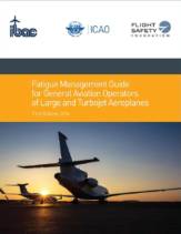 The Fatigue Management Guide for General Aviation Operators of Large and Turbojet Airplanes Cover