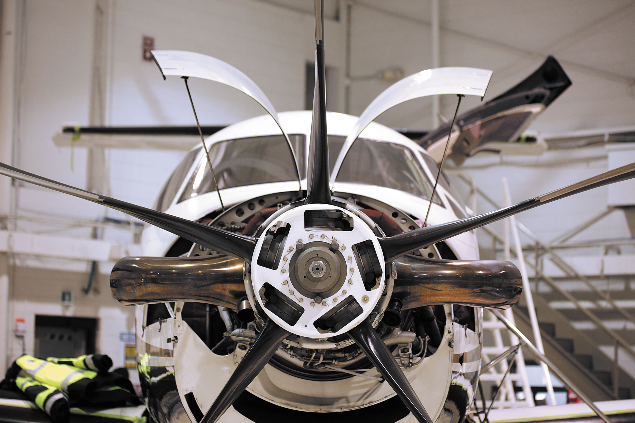 Small aircraft maintenance