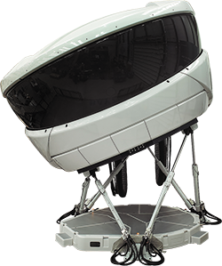 Thales RealitySeven Level D full flight simulator