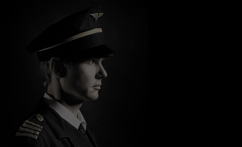 Airline captain faded