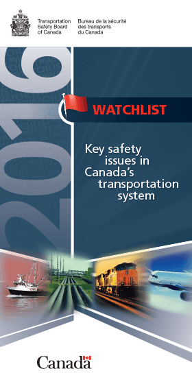 © Transportation Safety Board of Canada