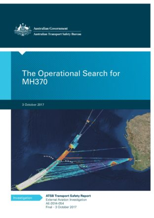The Operational Search for MH370 cover