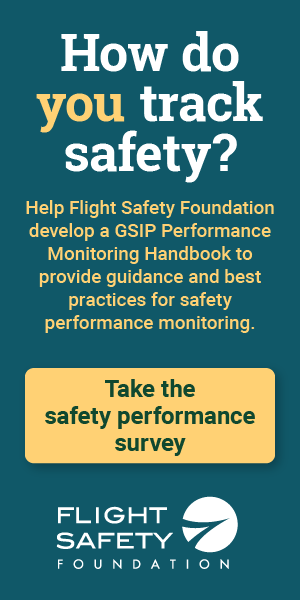 Take our safety performance survey!