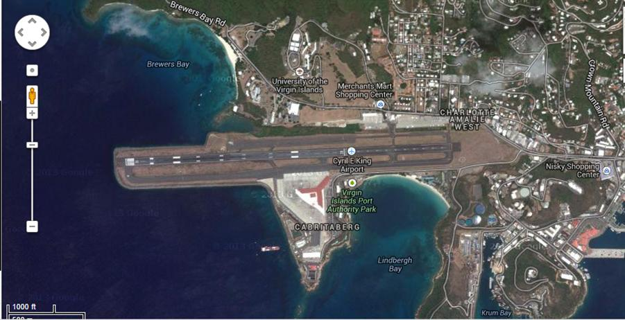 St. Thomas airport