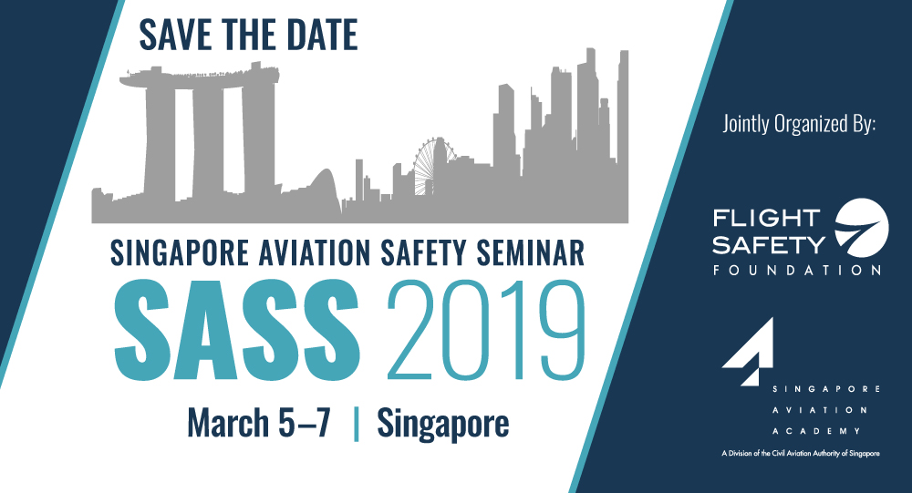IATA Executive to Deliver Keynote at SASS 2019 in Singapore