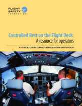 controlled rest report cover