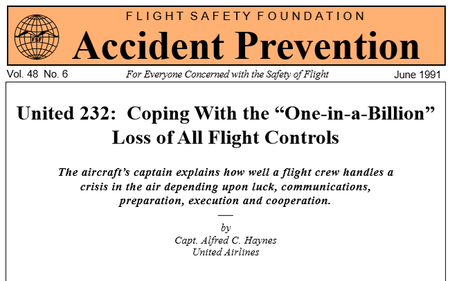 Flight Safety Foundation Accident Prevention